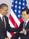 胡锦涛会晤奥巴马 对朝鲜事态表示忧虑